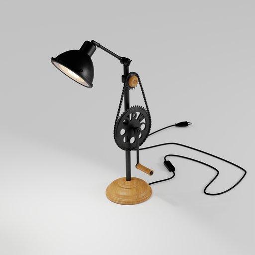 Thumbnail: The sprocket wheel industrial lamp