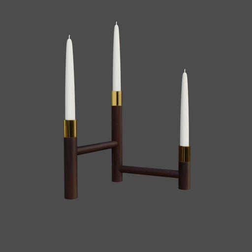 Thumbnail: Convergencia candle holder
