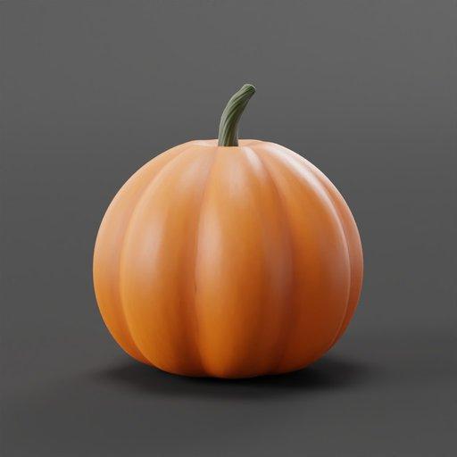 Thumbnail: Pumpkin Fruit For Halloween Decoration