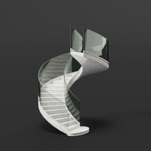 Thumbnail: Spiral Staircase (Modern)