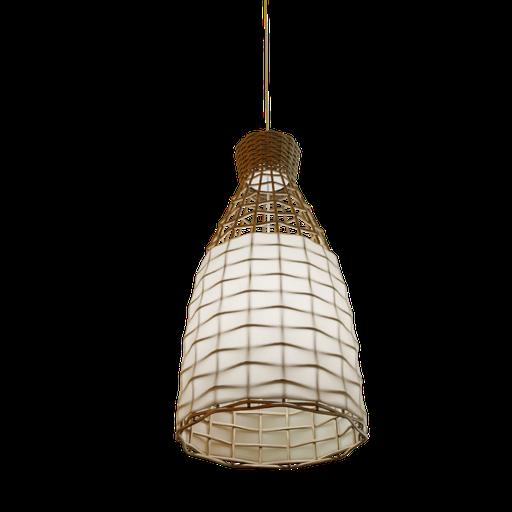 Lamp wicker