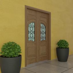 Thumbnail: Wood Door EG 149