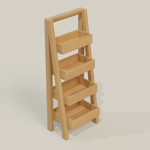 Thumbnail: Rack Shelving Bookcase 60 x 50 x 150