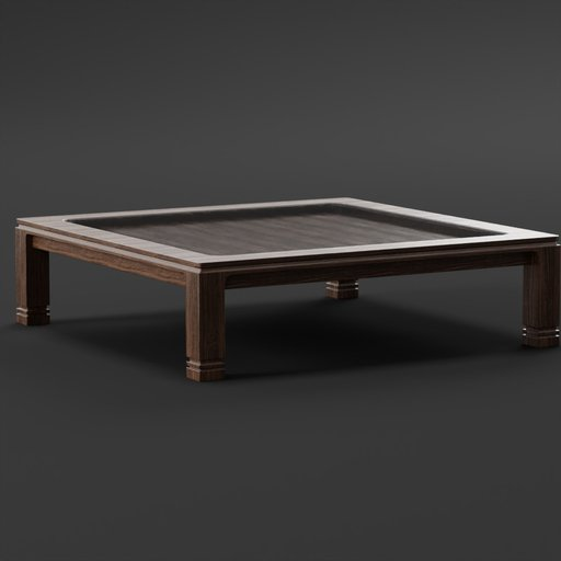 Thumbnail: Cofee Table with Glass
