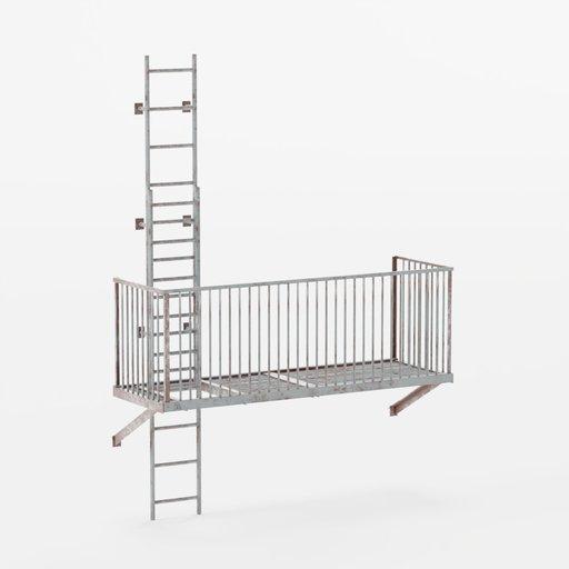Thumbnail: Stairs BottomEnd 3x3x0