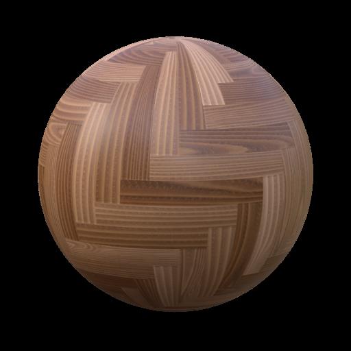 Thumbnail: herringbone parquet chestnut
