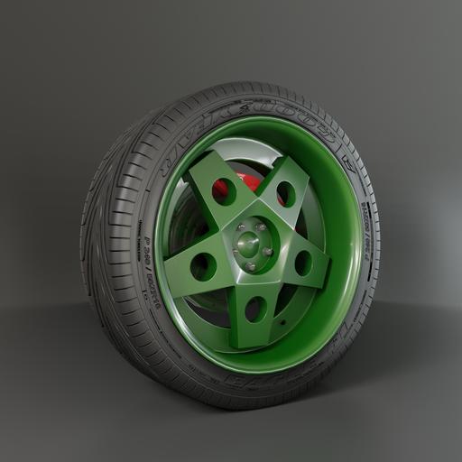 Thumbnail: Wheel Borbet style