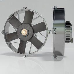 Thumbnail: EFan FiX-15 Electric Cooling Fan