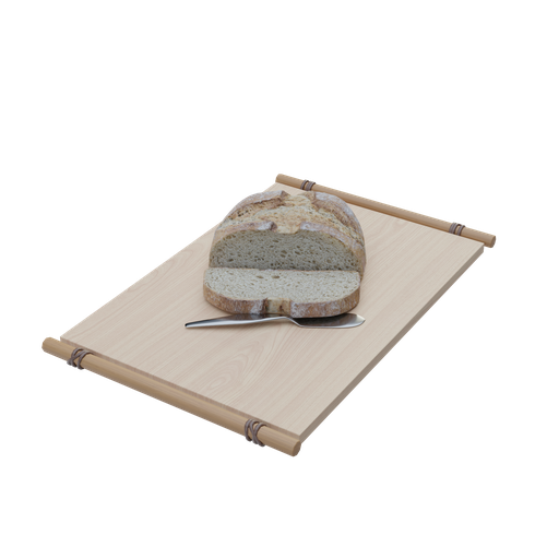 Thumbnail: Blender Guru's bread 2