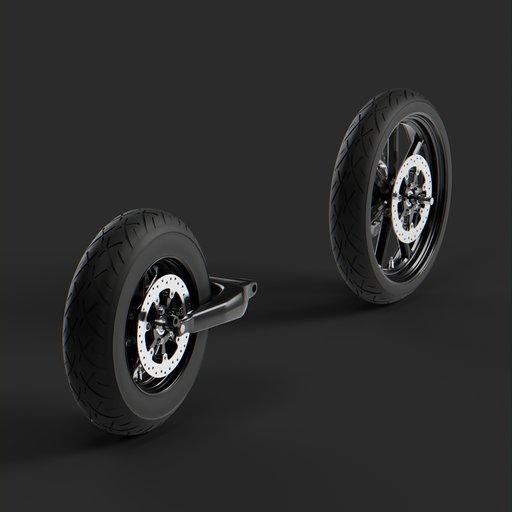 Thumbnail: Wheels harley davidson electra glide ultra classic 2018