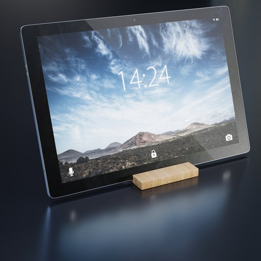 Thumbnail: Tablet PC Media Device with holder