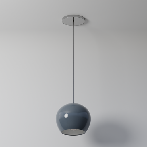 Thumbnail: Spherical Pendant Light (Bluish)
