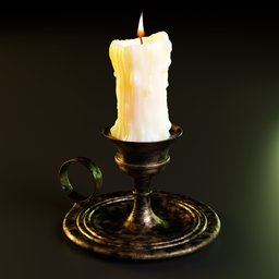 Thumbnail: Candle and candleholder