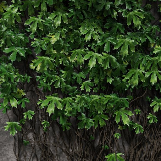 Ivy particle preset green
