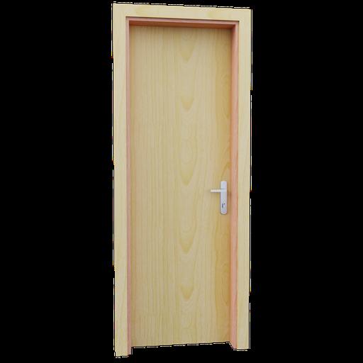 Thumbnail: Internal wooden door - Pine - 70 cm