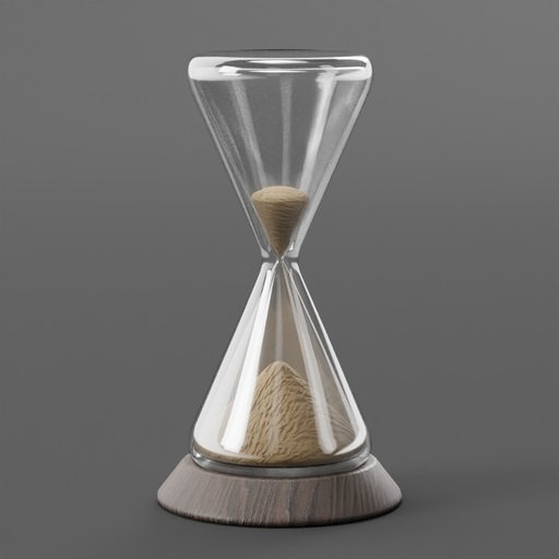 Thumbnail: Hourglass with Wooden Platform