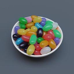 Thumbnail: Bowl of Jumbo Jellybeans