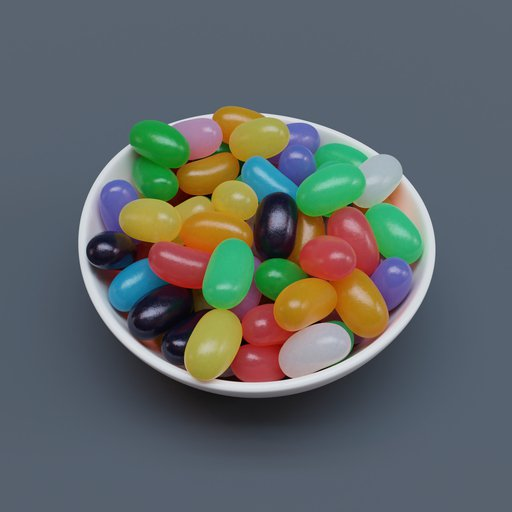 Thumbnail: Bowl of Jumbo Jellybeans