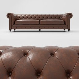 Thumbnail: Kensington sofa brown
