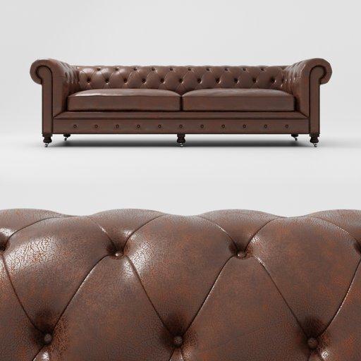 Kensington sofa brown