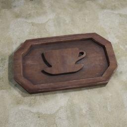 Thumbnail: Decorative wooden board