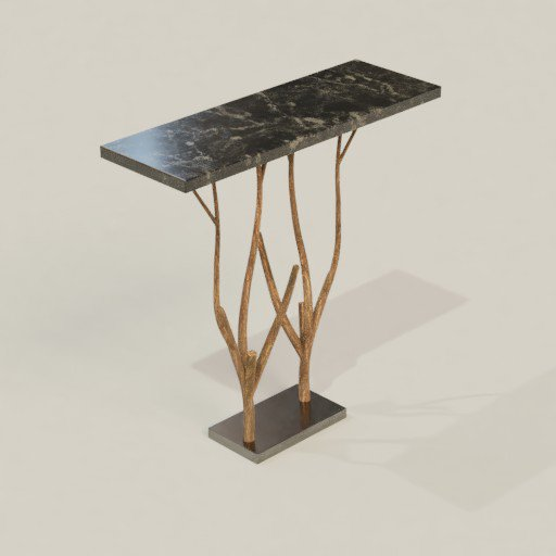 Console table tree style