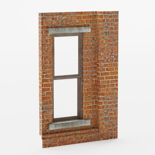 Thumbnail: Wall window inset bottom 2x3