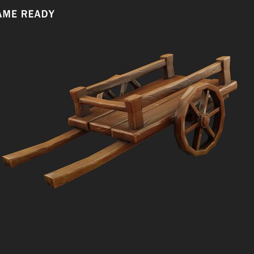 Thumbnail: Wooden cart