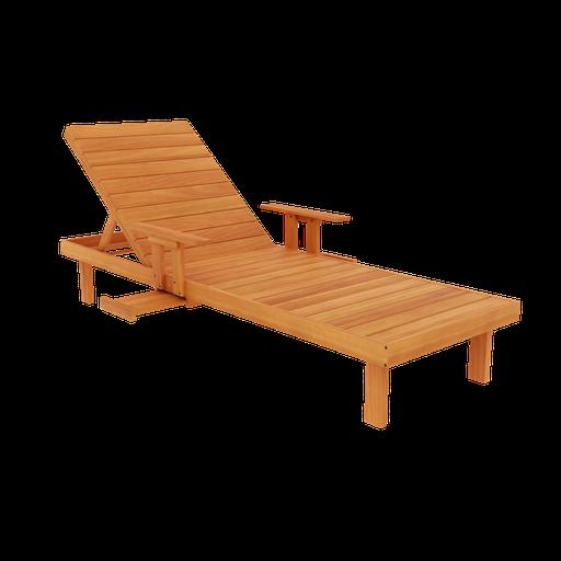 Thumbnail: Wooden Lounger