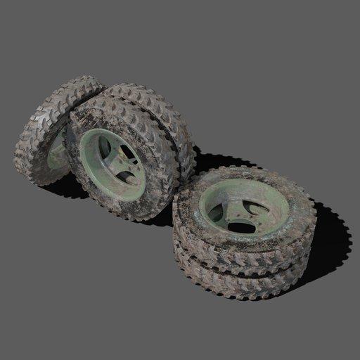 Thumbnail: PragaV3S wheel