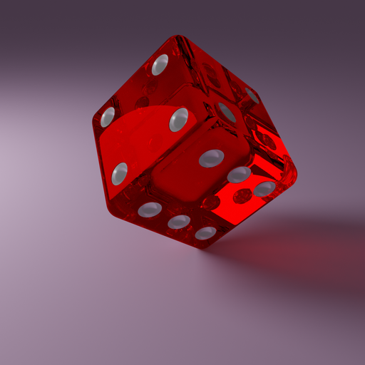 Thumbnail: Red Glass Dice