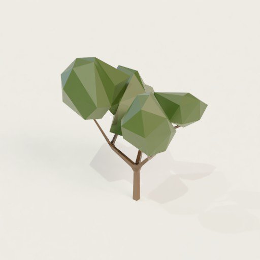 Thumbnail: Low poly tree 1