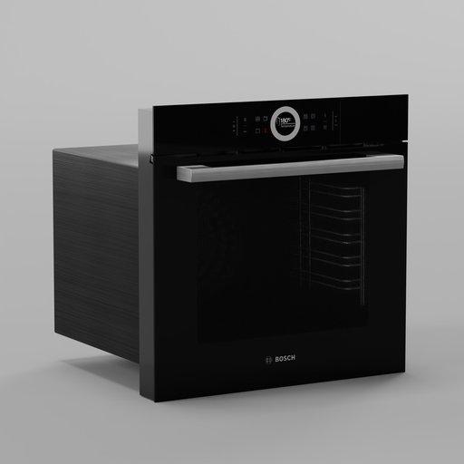 Thumbnail: Oven Bosch HBG675BB1