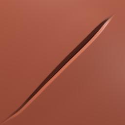 Thumbnail: sharp cut or scratch
