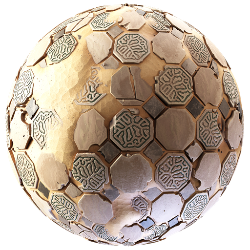 Thumbnail: Stylized Desert Tiles