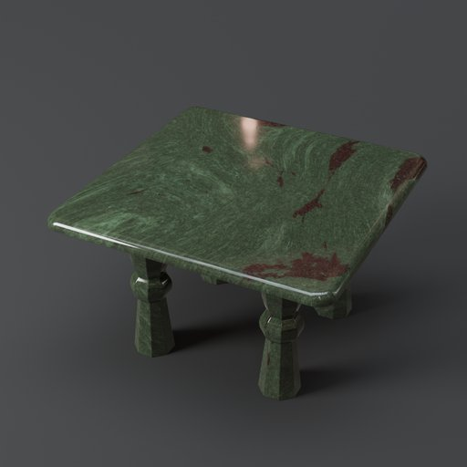 Thumbnail: Square Granite Table