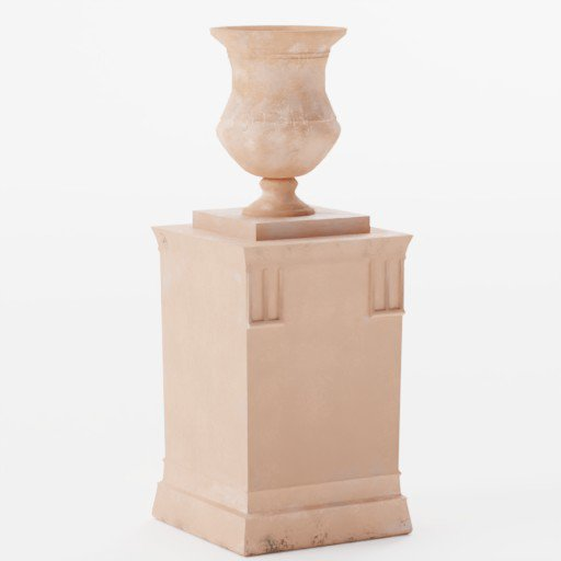 Thumbnail: Terracotta pot with stand