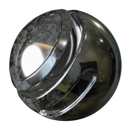 Thumbnail: Procedural Metal scratched 3