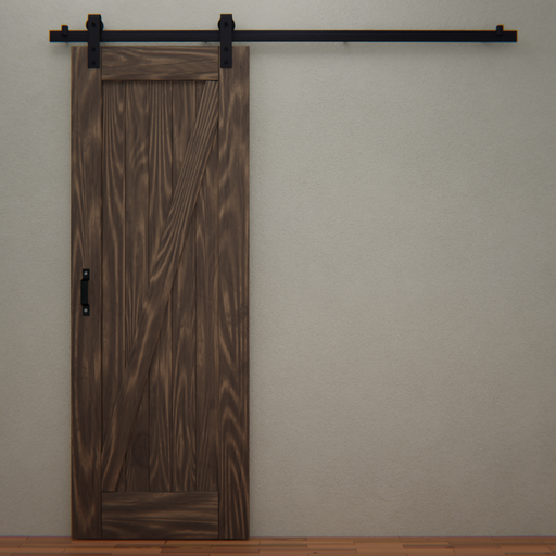 Thumbnail: Pine Slider door