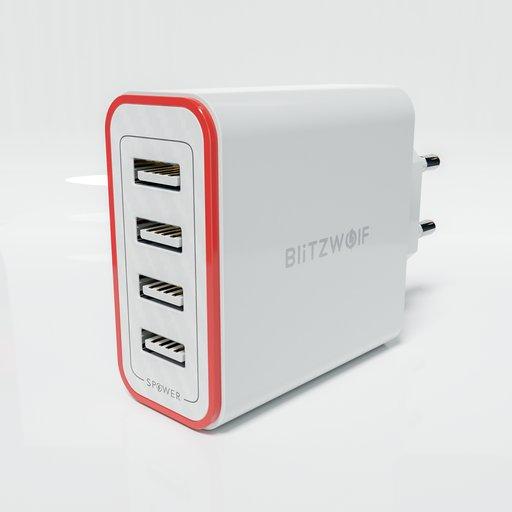 Thumbnail: USB Charger X4-Blitzwolf-BWPL5.