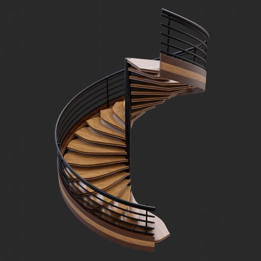 Thumbnail: Modern Spiral Stairs