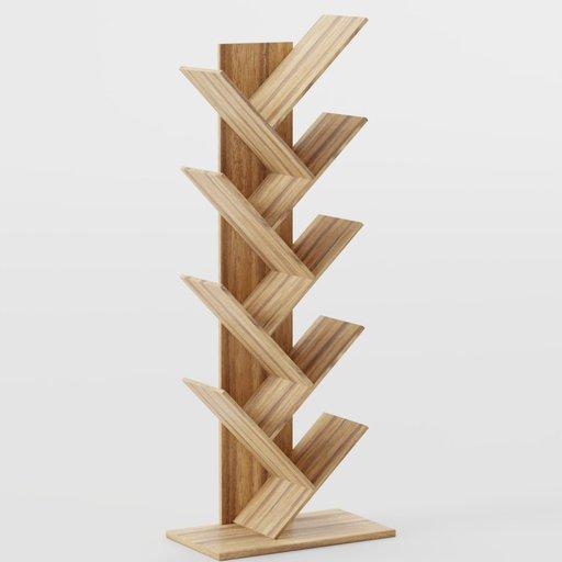 Thumbnail: Tree Shape Bookcase