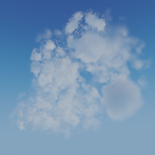 Thumbnail: Cloud procedural volumetric