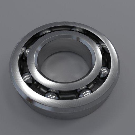 Thumbnail: Radial ball bearing type 1000088