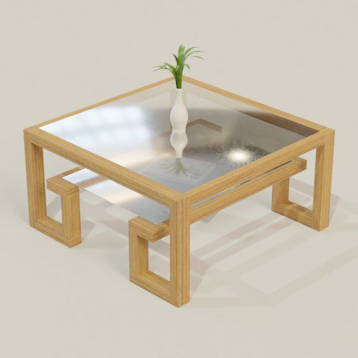 Thumbnail: Coffee Table 100 x 100 x 50