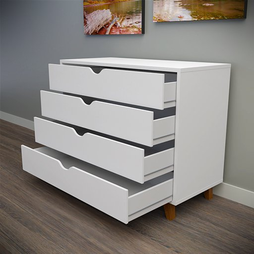 Thumbnail: Chest of drawers White
