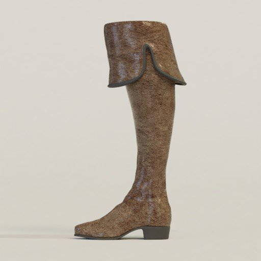 Thumbnail: Leather boot