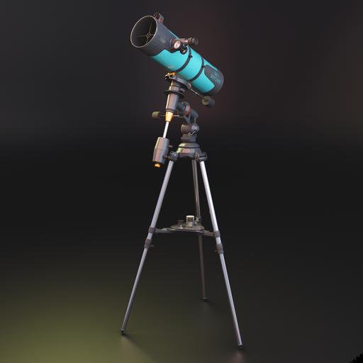 Thumbnail: Newtonian telescope