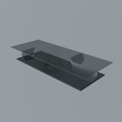 Thumbnail: Glass coffee table