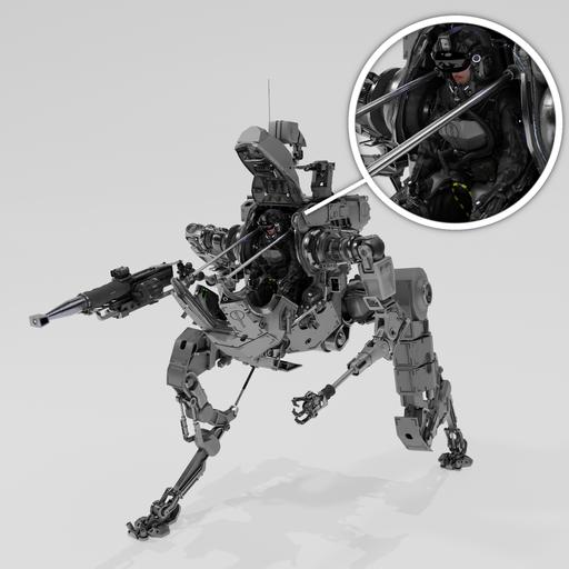 Mech Paratrooper